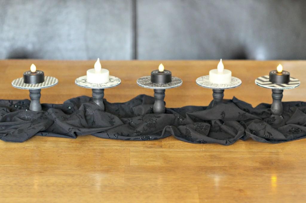 Halloween Tea light holders.7