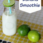 Key Lime Banana Smoothie