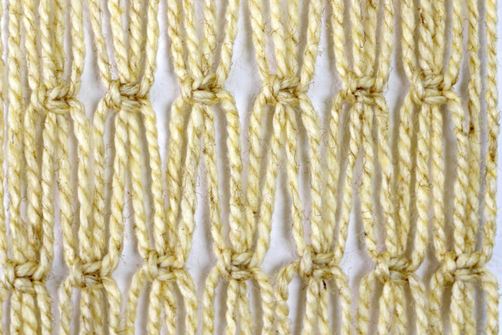 Macrame Wall Hanging close up.1