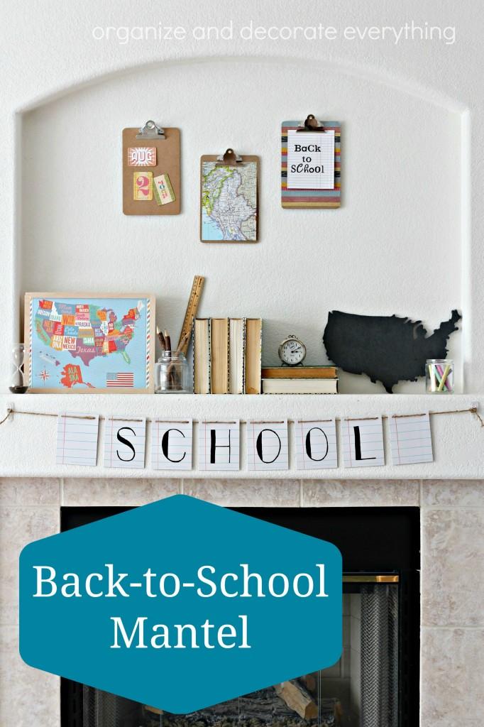 School Mantel