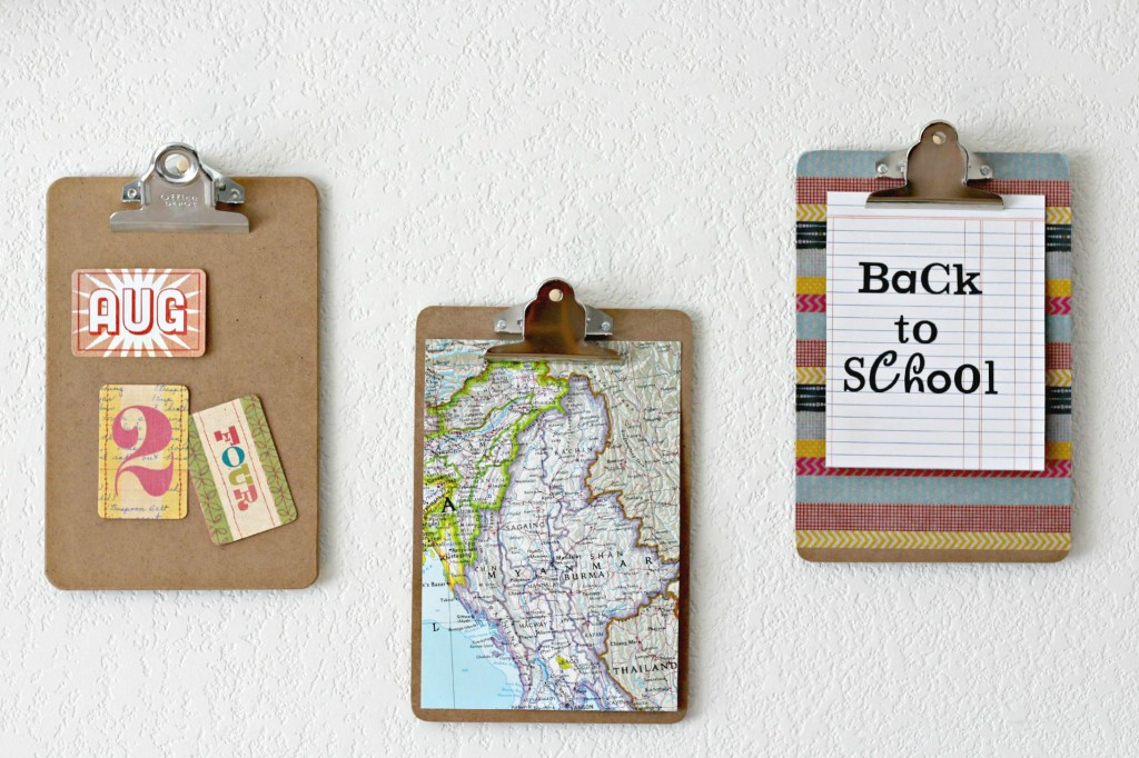 School Mantel clipboards.1