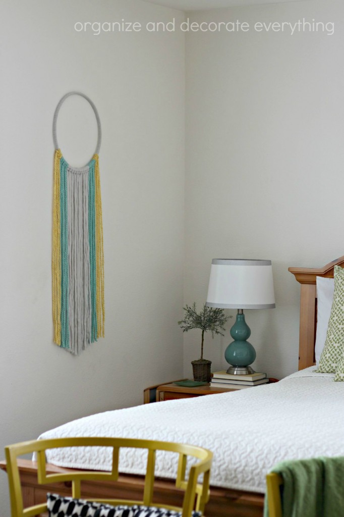 Yarn Wall Hanging bedroom