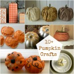 10+ Pumpkin Crafts