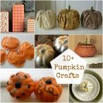 10+ Pumpkin Crafts