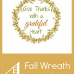 Fall Wreath Printables