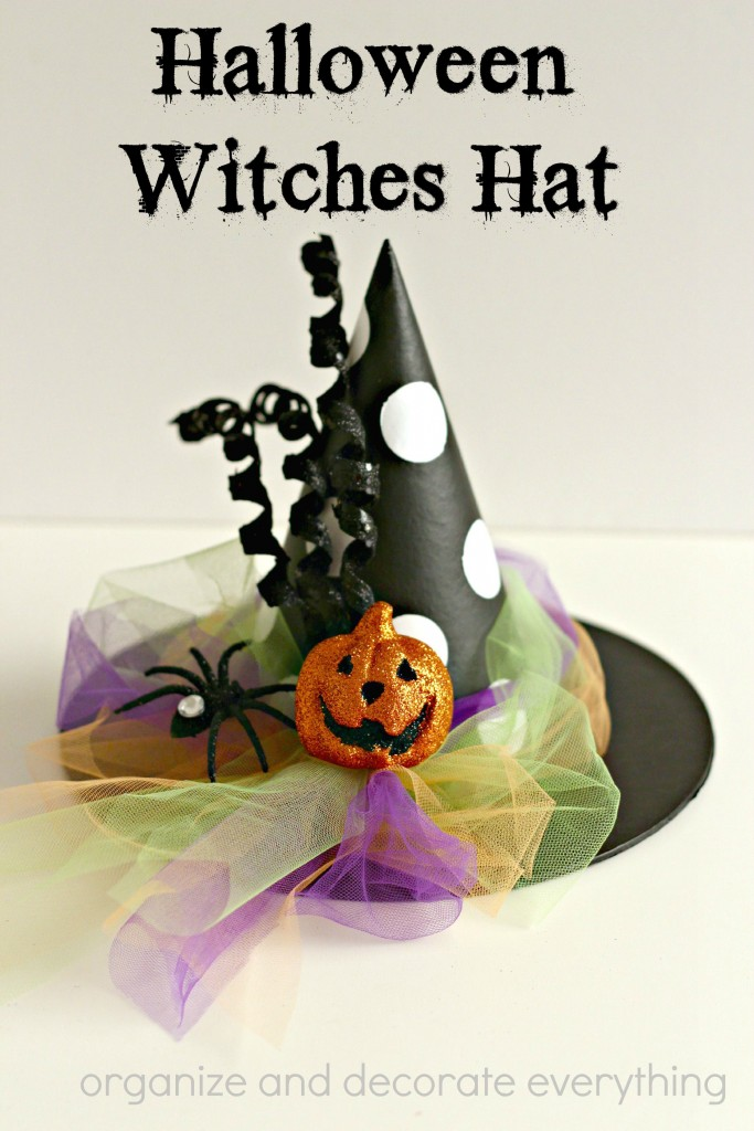 Crafty Halloween Witches Hat