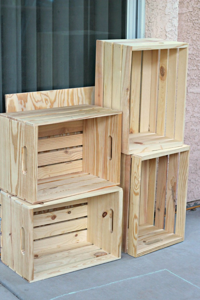 Crate Table supplies