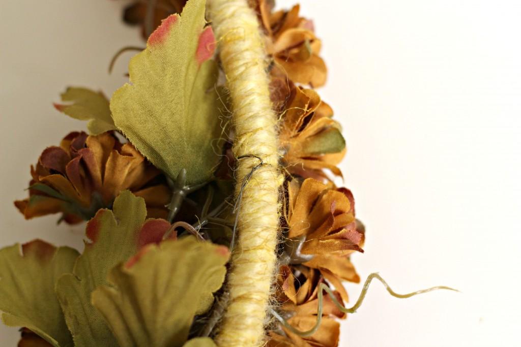 Fall Hoop wire flowers