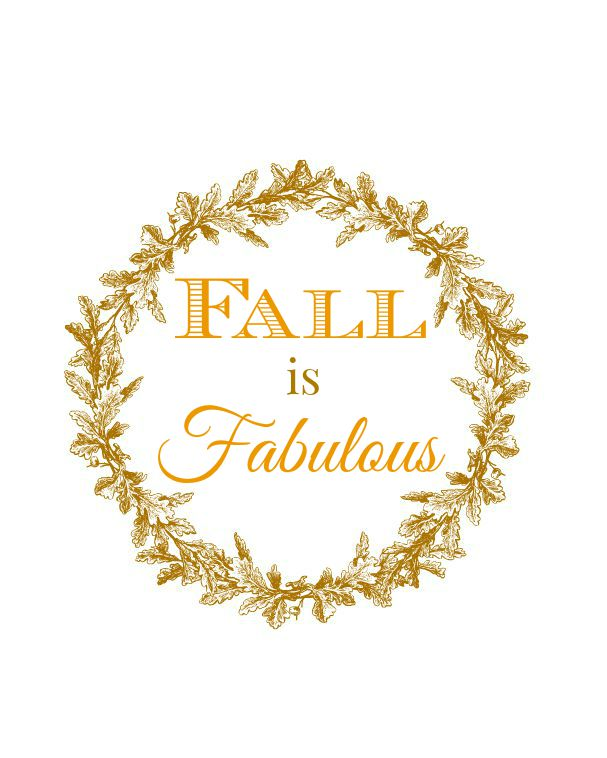 Fall is Fabulous