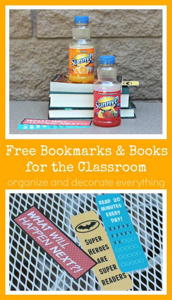 Free Bookmarks and Books for the Classroom