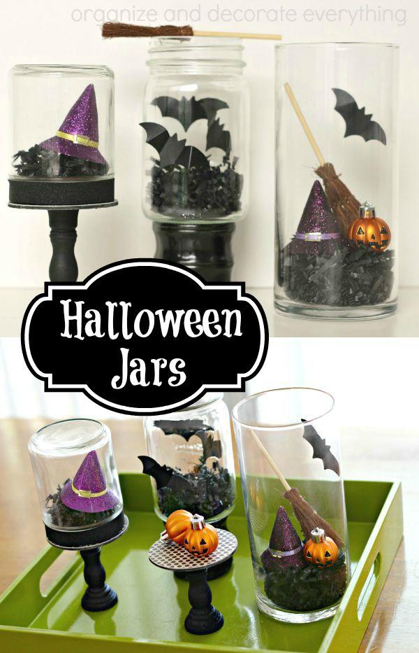 Halloween Jars pinterest