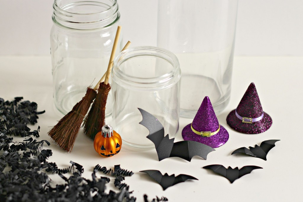 Halloween Jars supplies.1