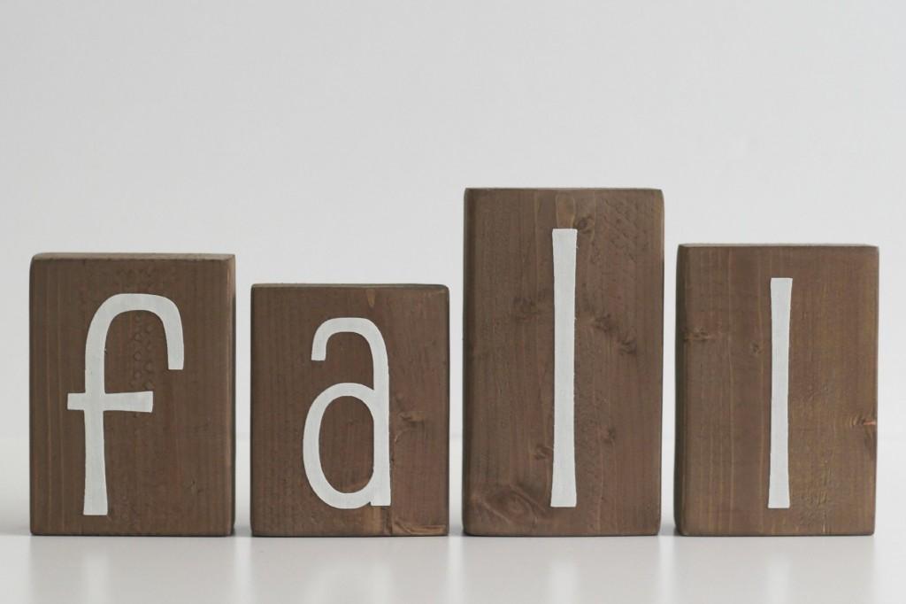 Hello Fall blocks