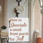 How to Decorate a Small Front Porch for Fall