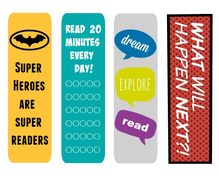 Free Bookmarks and Books for the Classroom - Organize and