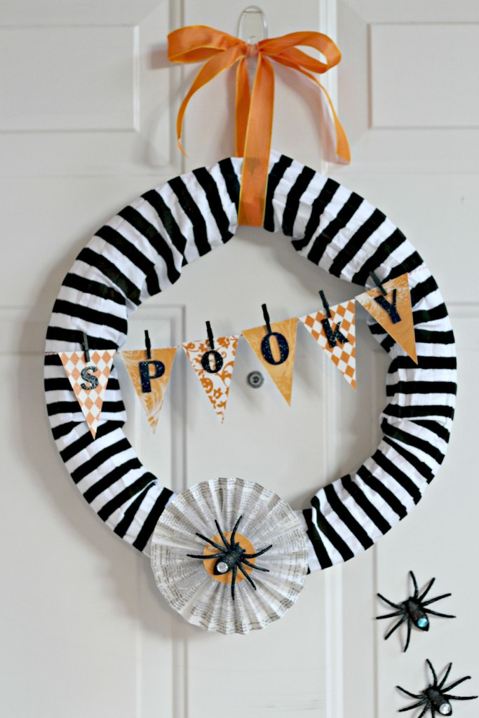Spooky Spider Wreath.2