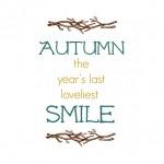 Autumn Printables