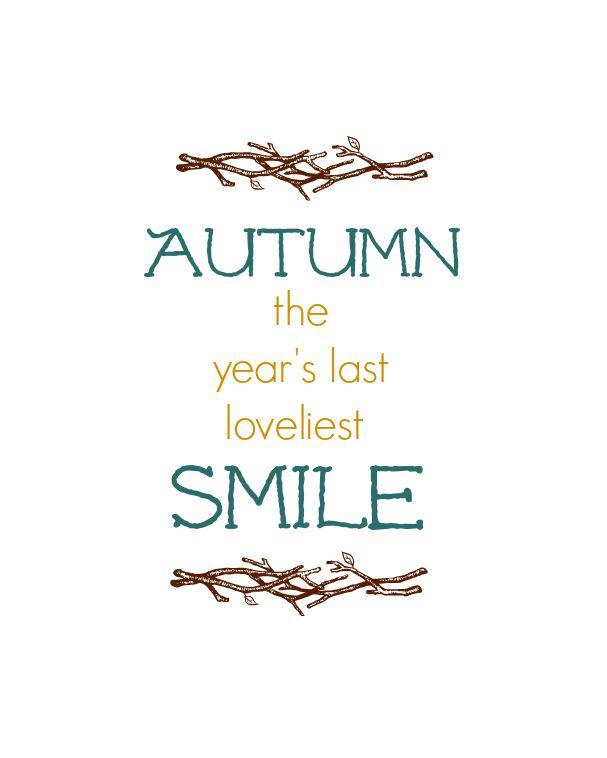 Autumn Smile