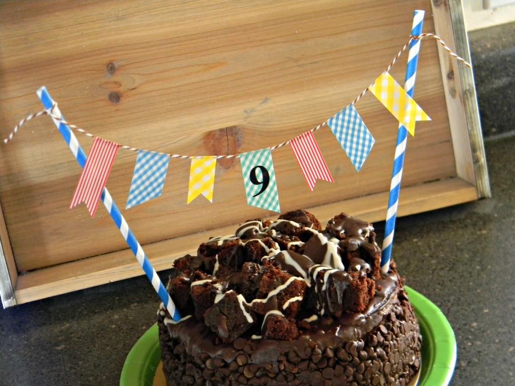 Birthday Cake Banner 3