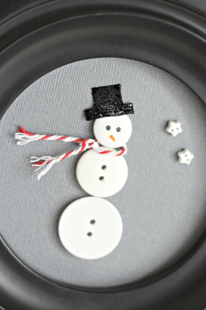Button Snowman hat.1
