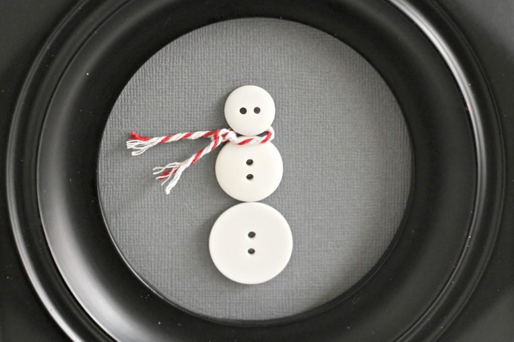 Button Snowman head.1