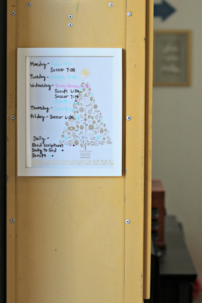 DIY Dry Erase Board.11
