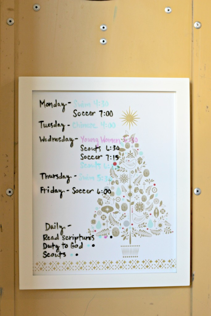DIY Dry Erase Board.7