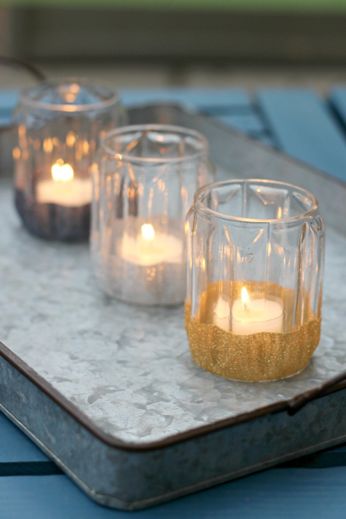 Glitter Candle Holders.10