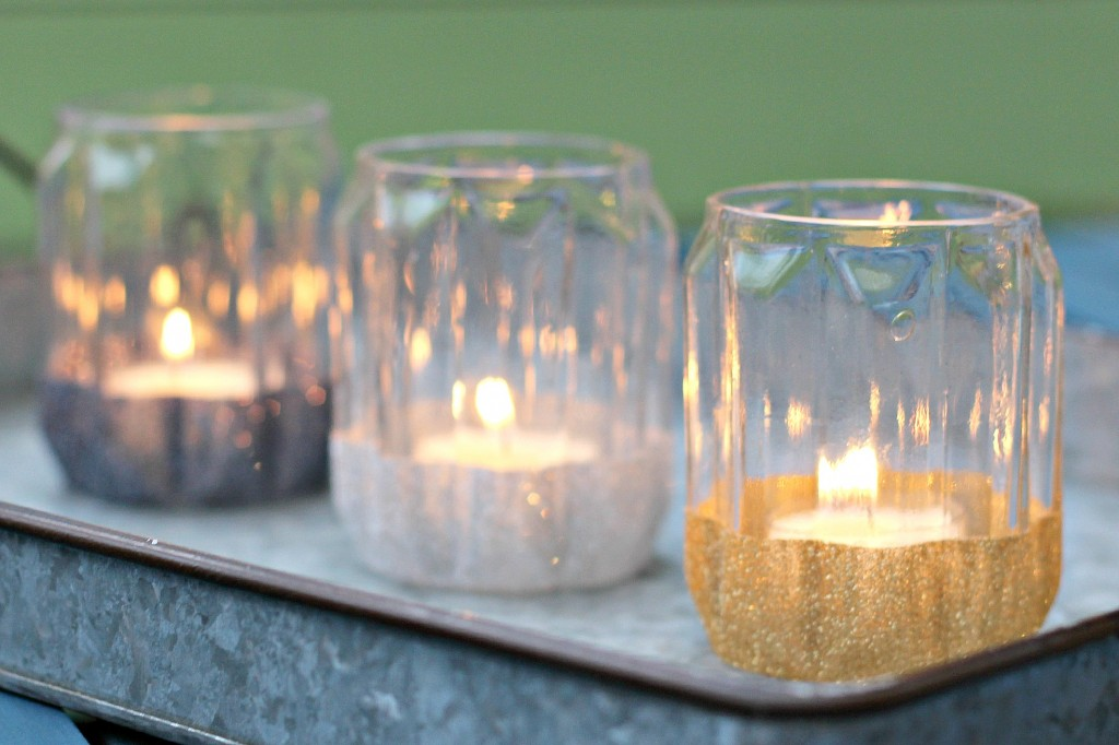 Glitter Candle Holders.12