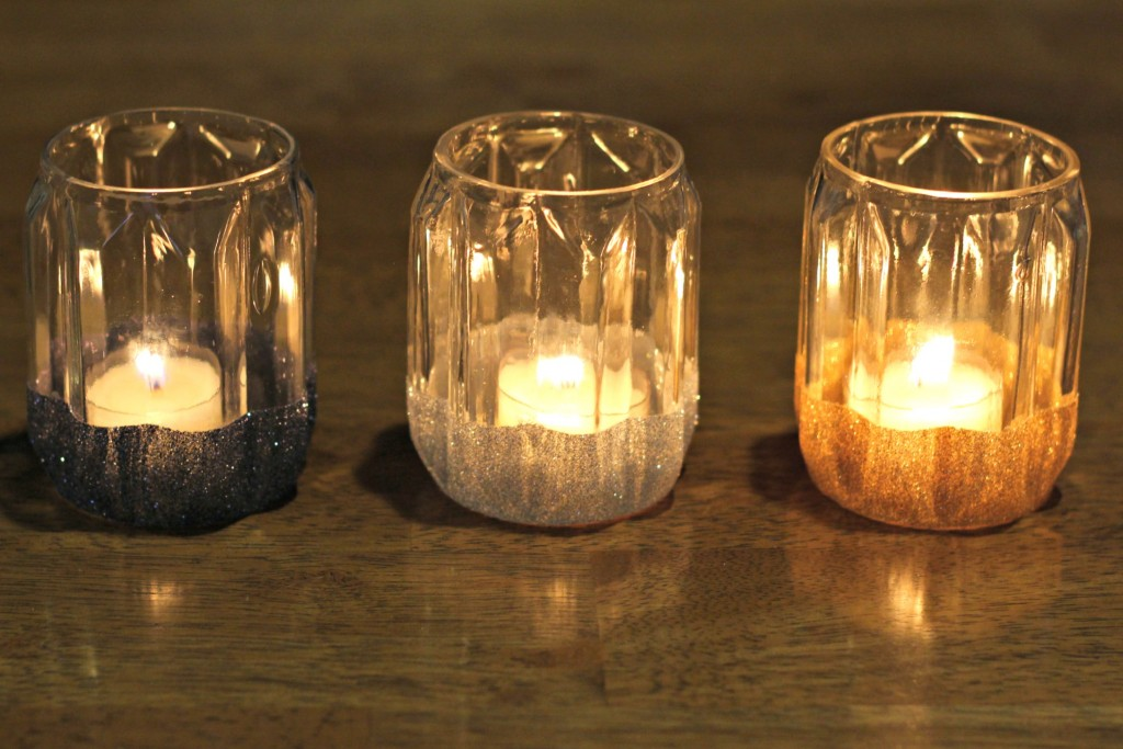 Glitter Candle Holders.14