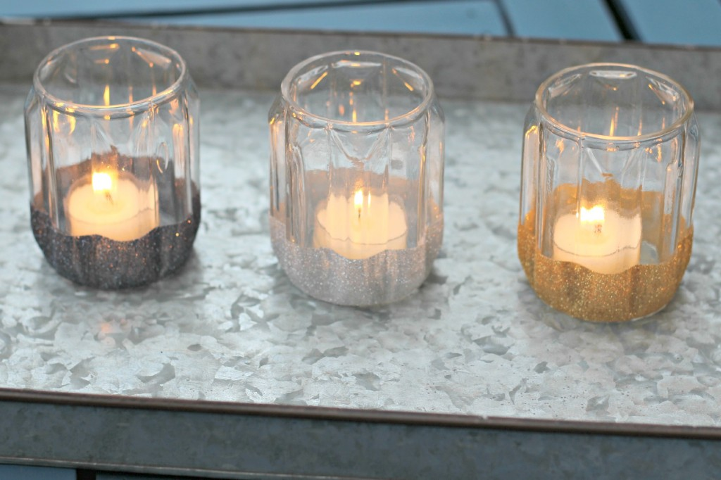 Glitter Candle Holders.9