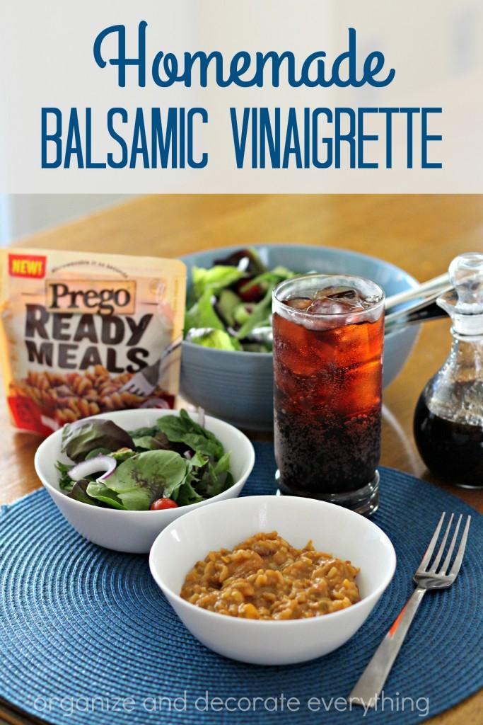 Homemade Balsamic Vinaigrette - Organize and Decorate Everything