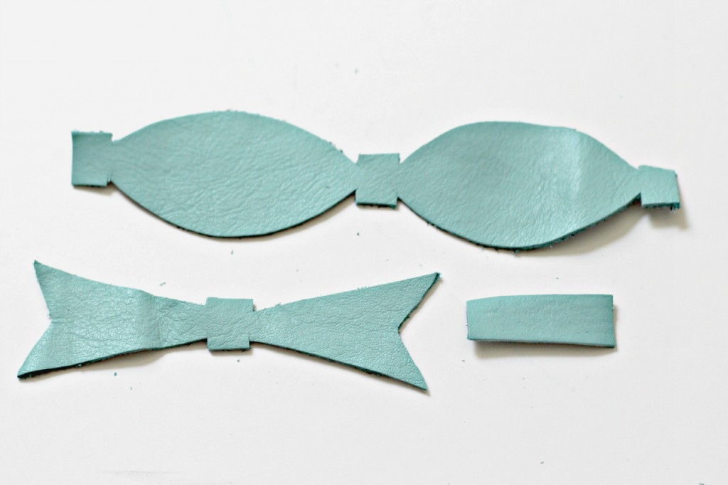Leather Bow parts.1