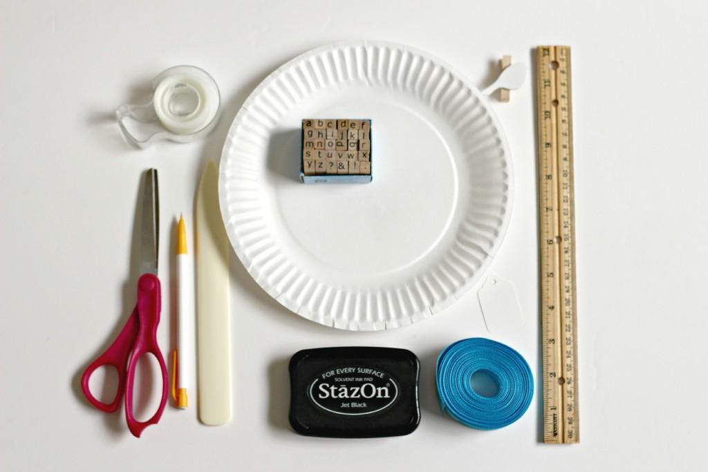 Paper Plate Basket.12