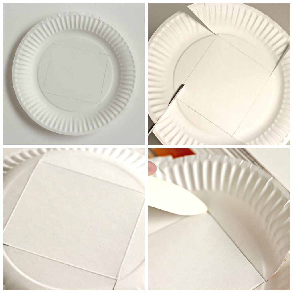 Paper Plate Basket.13