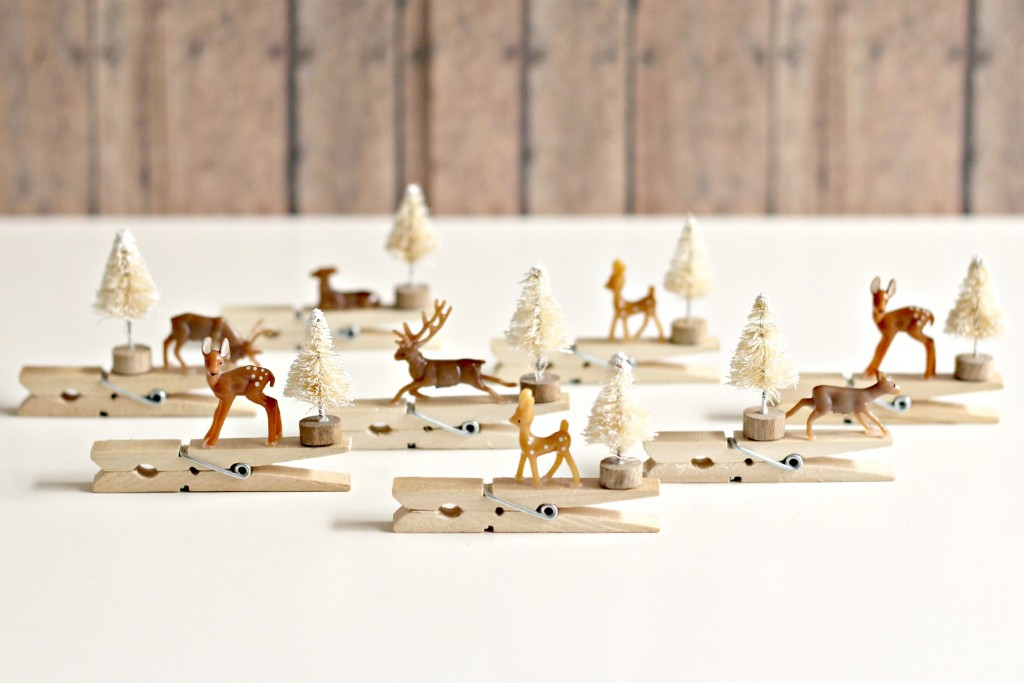 Reindeer Clothespin Ornaments.4