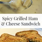 Spicy Grilled Ham and Cheese Sandwich