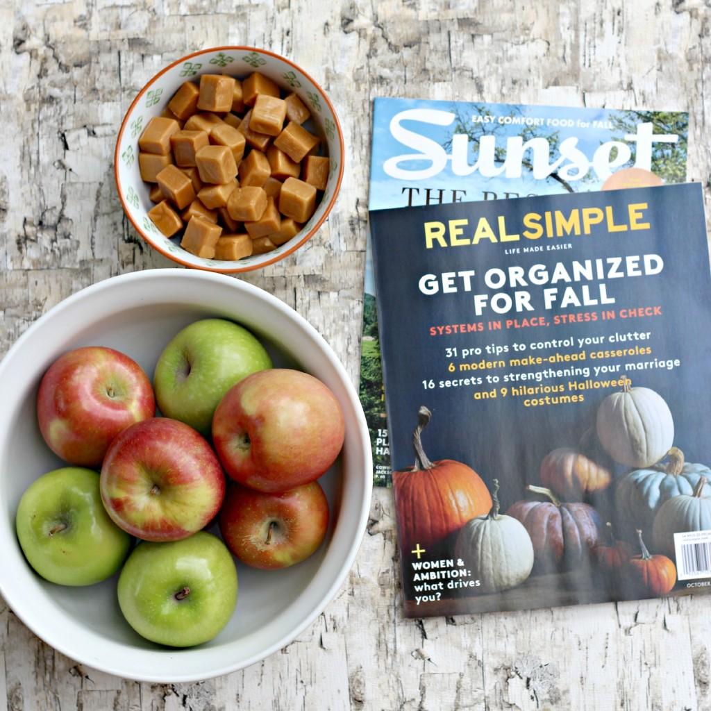 This Fall caramel apples