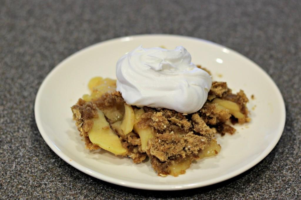 gluten free apple crisp 2