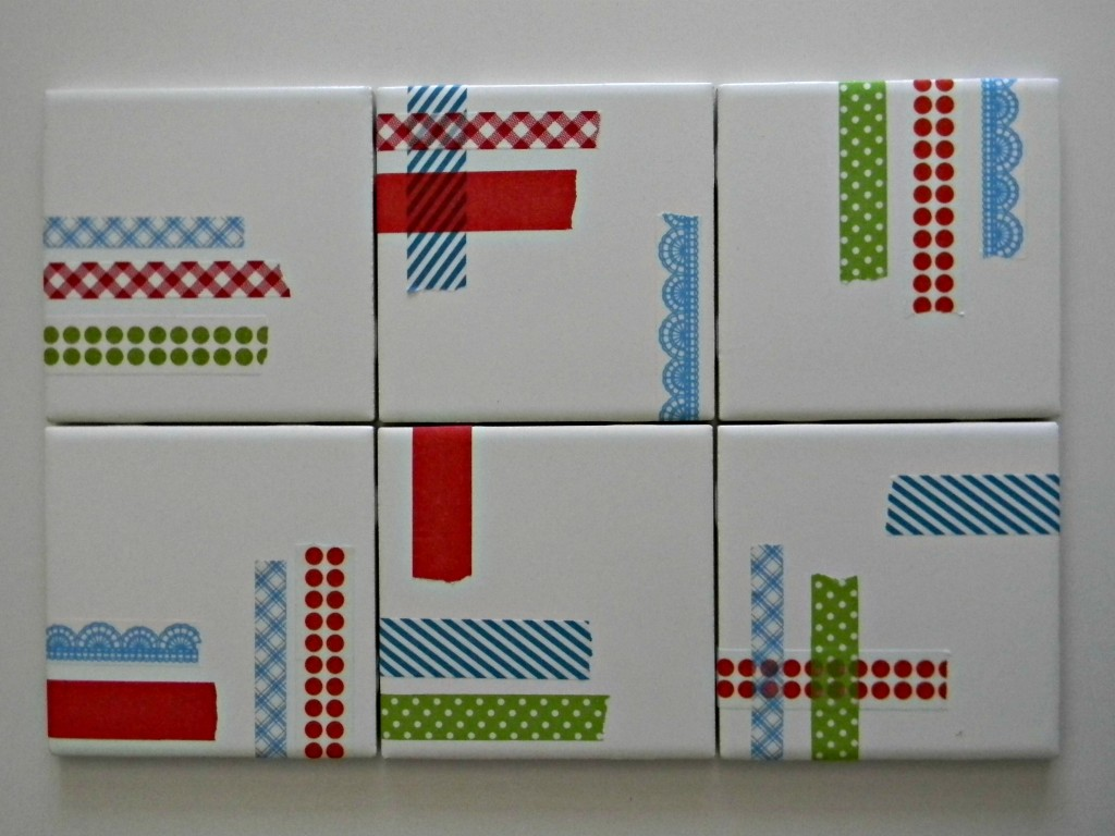 washi tape coasters 1