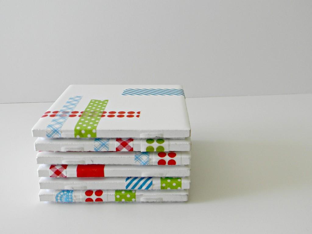 washi tape coasters 3