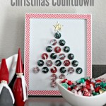 Hershey's Kisses Christmas Countdown