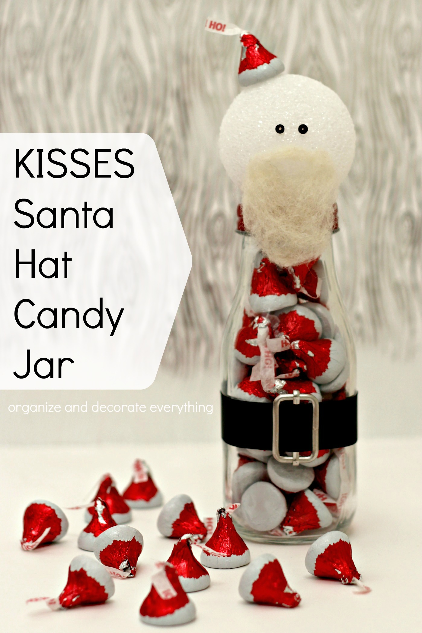 64fa6cb303433 KISSES Santa Hat Candy Jars - Organize and Decorate Everything