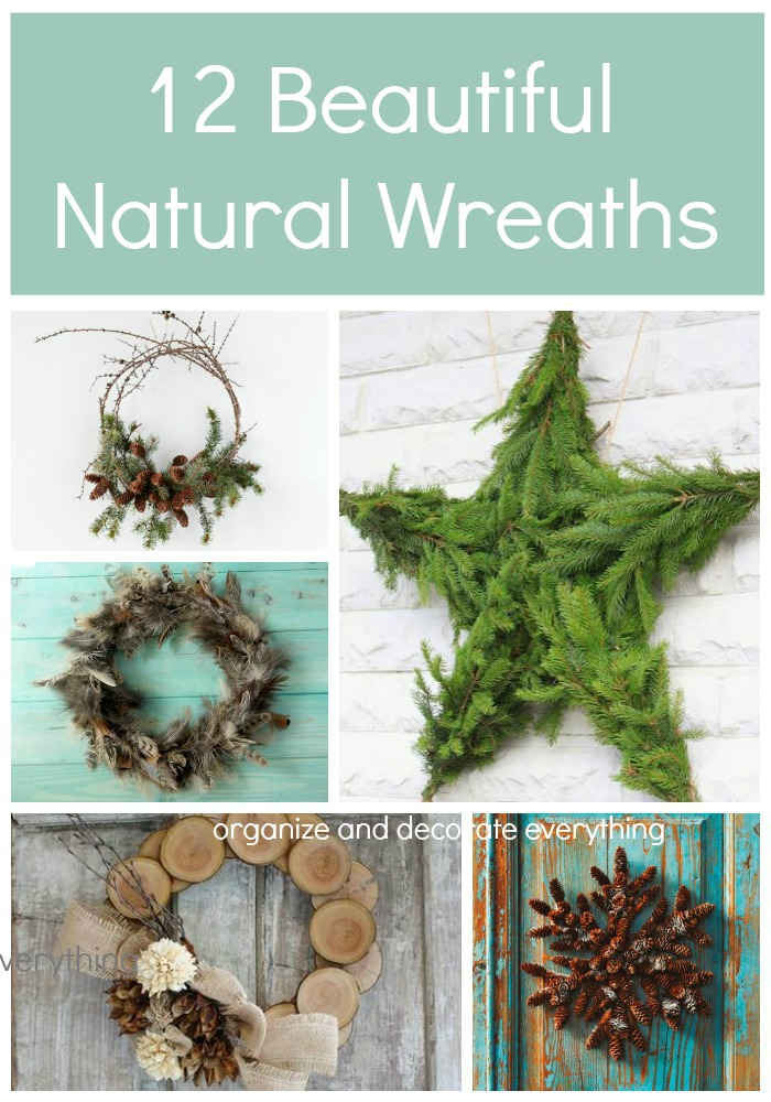 Learn to make a wreath using elements from nature There are 12 different techniques to choose from