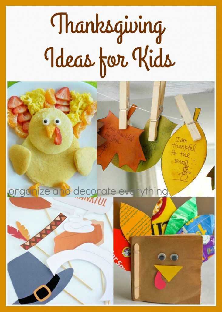 Thanksgiving Ideas for Kids to make the whole day even more special