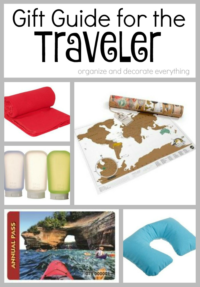 This Gift Guide for the Traveler is full of great and inexpensive ideas to make travel easier and more comfortable