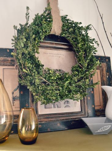 Wreath Boxwood