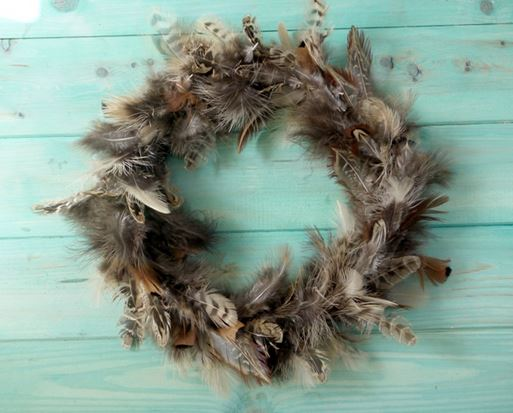 Wreath Feather