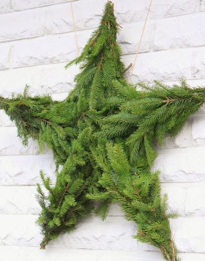 Wreath Pine Star