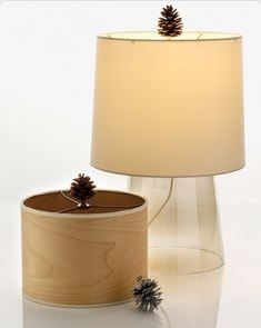 pinecone lamps